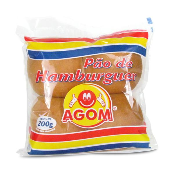 Pão de hambúrguer Agom